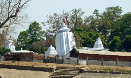 Er Bidyadhar Panda's odia travelogue on Huma, the lean temple