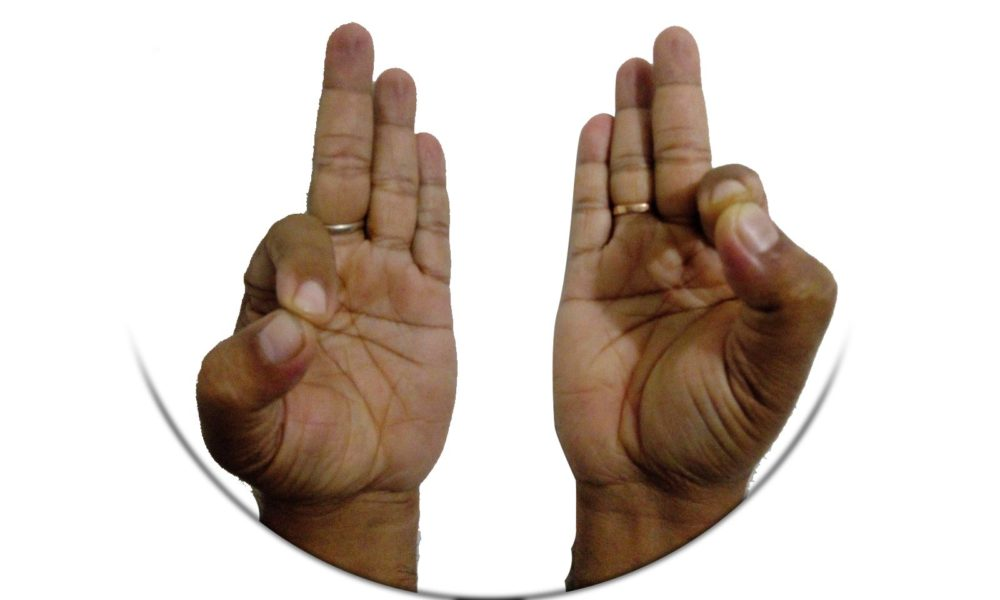 Shraddhananda Moharana's odia health article on Mudra : Gyan Mudra