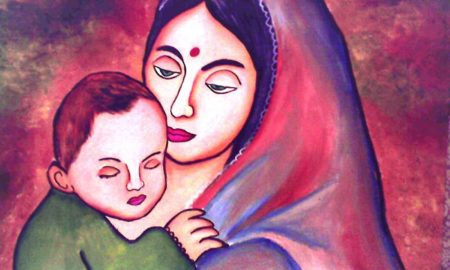 Manorama Mishra's odia poem for children Mo Maa