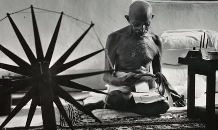 Biraja Routray's odia prose Gaandhi Moolyabodhara Praasangikataa