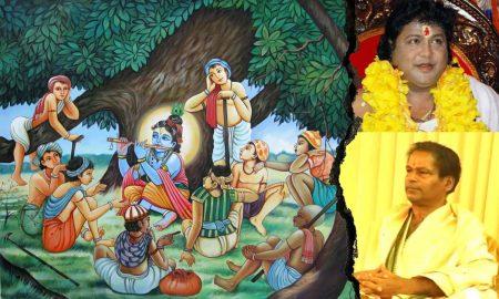 Prasanta Kumar Behera's odia satire poem Mohana Banshi Dwaparare o Ebe