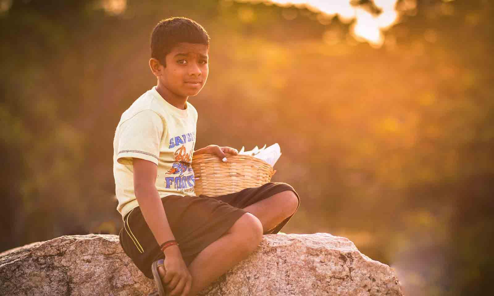 Kanishtha Kishore Sahu's odia story for children Eia Bodhe Bhagabaan