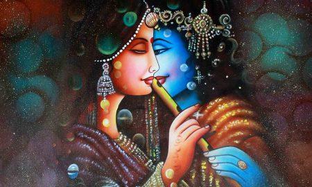 Dr Mousumi Parida's odia poem Raadha Saadhanaara Anyanaama
