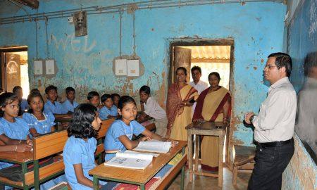 Gupteshwar Nanda's odia poem for children Niraapada Bidyalaya